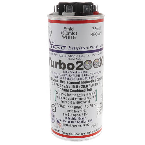 12300 MARS TURBO 200X DUAL CAPACITOR WITH A RANGE