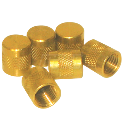 65408 MARS 1/4 SERVICE VALVE CAPS WITH O RING (PAC