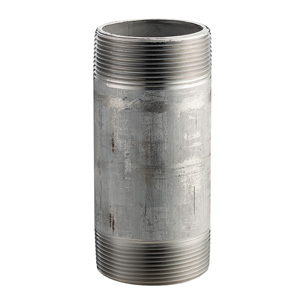 1-1/2x8inch 304/L-40 WELD SS THREADED NIPPLE