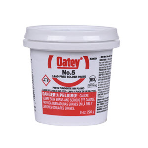 30014 OATEY 8oz NO.5 PASTE FLUX (JAR)