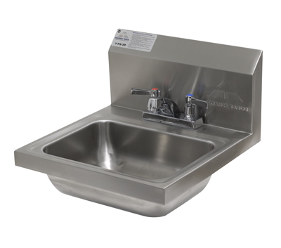 7-PS-45 ADVANCE TABCO WALL MOUNT HAND SINK WITH GO