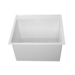 DL1 FIAT DROP IN SINK IN MOLDED STONE 24inch WIDE