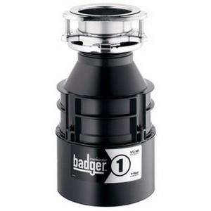 BADGER-1 1/3HP CONTINUOUS FEED GARBAGE DISPOSER 1