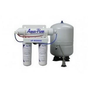 Aqua-Pure? Cuno? AP-RO5500 5-Micron 125 psi Reverse Osmosis Drinking Water Filtration System, 0.6 gpm