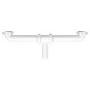 P9123B DEARBORN 1-1/2x21inch PVC CENTER OUTLET WAS