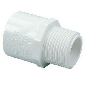 1-1/2inch PVC S40 MxS MALE ADAPTER