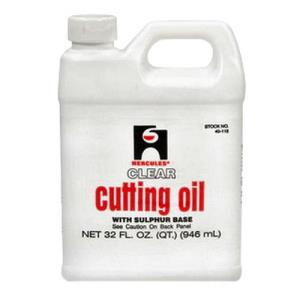 40115 HERCULES CUTTING OIL 1 QT CLEAR