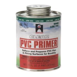 60460 HERCULES 1 PT CLEAR PVC PRIMER