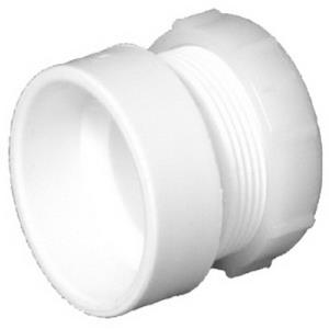 1-1/2inch 104-P PVC DWV FEMALE TRAP ADAPTER WITH W