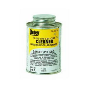 30779 OATEY ALL PURPOSE CLEANER - CLEAR 4OZ 1/4 PI