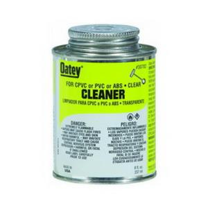 30782 OATEY ALL PURPOSE CLEANER - CLEAR 8OZ 1/2 PI