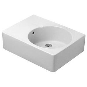 0685600011 WHITE DURAVIT SCOLA WASHBASIN WITH OVER