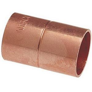 1-1/2inch 600 COPPER COUPLING WITH STOP  1-5/8OD