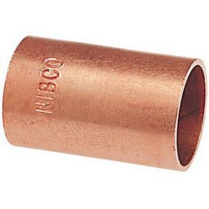 1-1/2inch 601 COPPER SLIP COUPLING LESS STOP