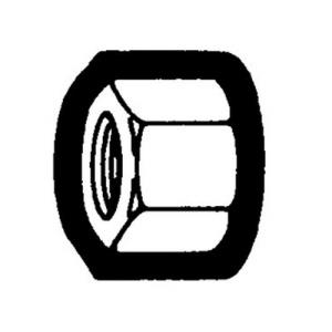 1/4OD COMPRESSION NUT HOLYOKE 61-4