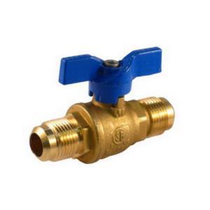 101-603 JOMAR 1/2inchOD FLARE x FLARE GAS COCK BAL