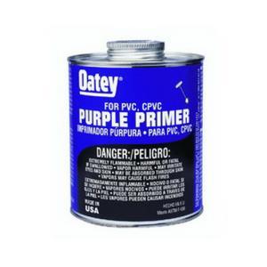 30756 OATEY PRIMER CLEANER PURPLE 8OZ