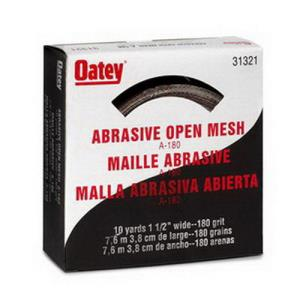 31321 OATEY 180 OPEN MESH ABRASIVE CLOTH 1-1/2inch