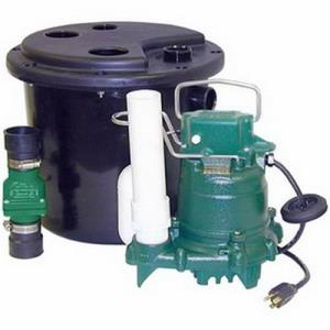 105-0001 ZOELLER 105 LAUNDRY PUMP PACKAGE WITH M53
