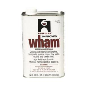 20110 HERCULES 1quart WHAM GREASE SLIME SOAP & DET