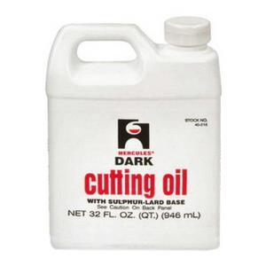 40215 HERCULES 1quart DARK CUTTING OIL