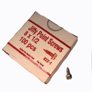 10626 (11012) SHOOK 122-1 1/2X8 SPEED SCREWS BOX/1