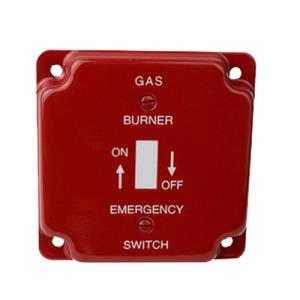 625-S17 DIVERSITECH 4x4inch GAS EMERGENCY SWITCH C