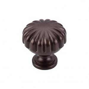 M756 TOP KNOBS MELON CUT KNOBS OILED RUBBEED BRONZ