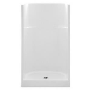 1363C-WHT AQUATIC 36inch WHITE FIBERGLASS SHOWER A