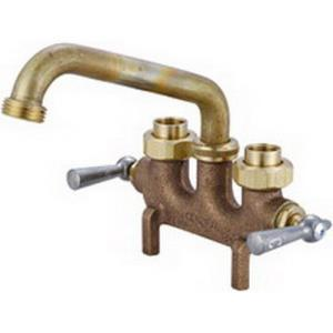 "0465 CENTRAL BRASS LAUNDRY FAUCET 6"" TUBE SPOUT 3-"