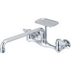 0048-UA3 CENTRAL BRASS WALL MOUNT FAUCET 12inch TU
