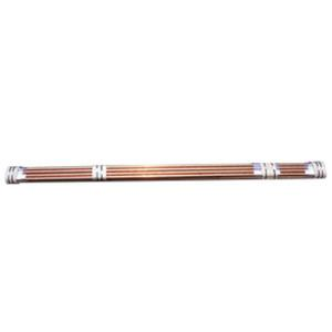 2inchx12foot S40 RED BRASS PIPE Priced per Foot -