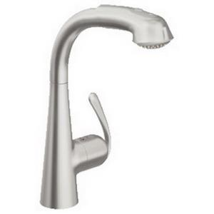 33 893 DC0 GROHE LADYLUX3 SUPERSTEEL SINGLE HOLE K