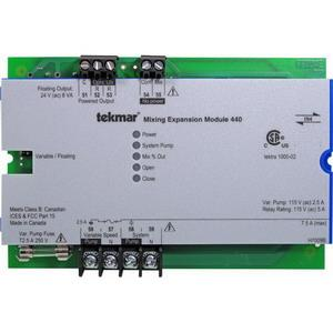 440 TEKMAR MIXING EXPANSION MODULE VARIABLE SPEED/