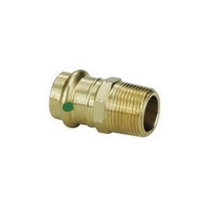 79290 PROPRESS ZERO LEAD BRONZE ADAPTER P X M NPT
