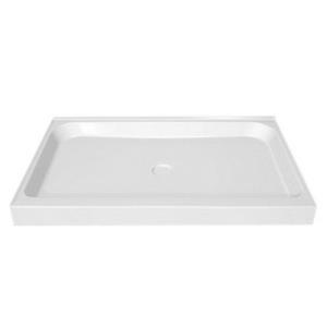 105059-000-001 MAAX 48x36 WHITE SHOWER BASE WITH 5