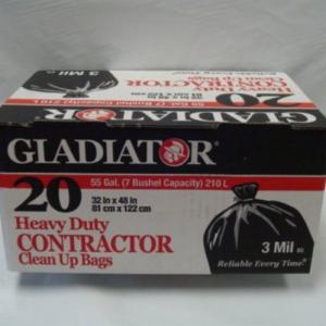 CB-CON20 3mil GLADIATOR THICK HEAVYWEIGHT PLASTIC
