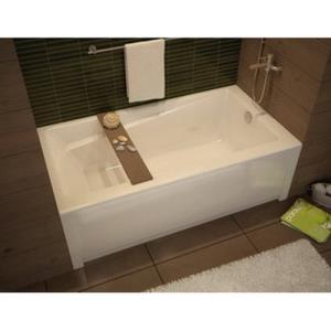 105519-L-000-001 MAAX WHITE EXHIBIT TUB 60X30X18 W