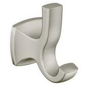 YB5103BN CSI DONNER BRUSHED NICKEL ROBE HOOK
