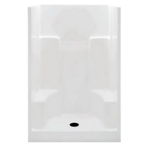 1483-STS-R-WHT AQUATIC WHITE GEL COAT SHOWER RIGHT