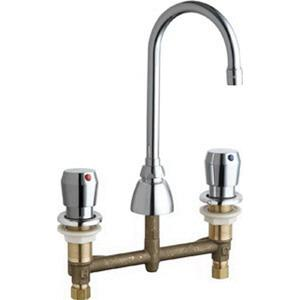786 E3-665CP CHICAGO LAVATORY FAUCET METERING