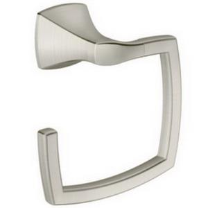 YB5186BN CSI DONNER BRUSHED NICKEL VOSS TOWEL RING