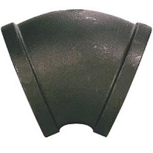 1-1/2inch BLACK MALLEABLE 45 ELL