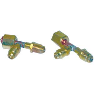 65460 MARS ACCESS TEE 1/4OD MALE FLARE WITH VALVE